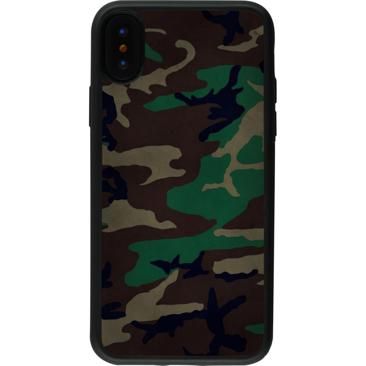 coque camouflage iphone x