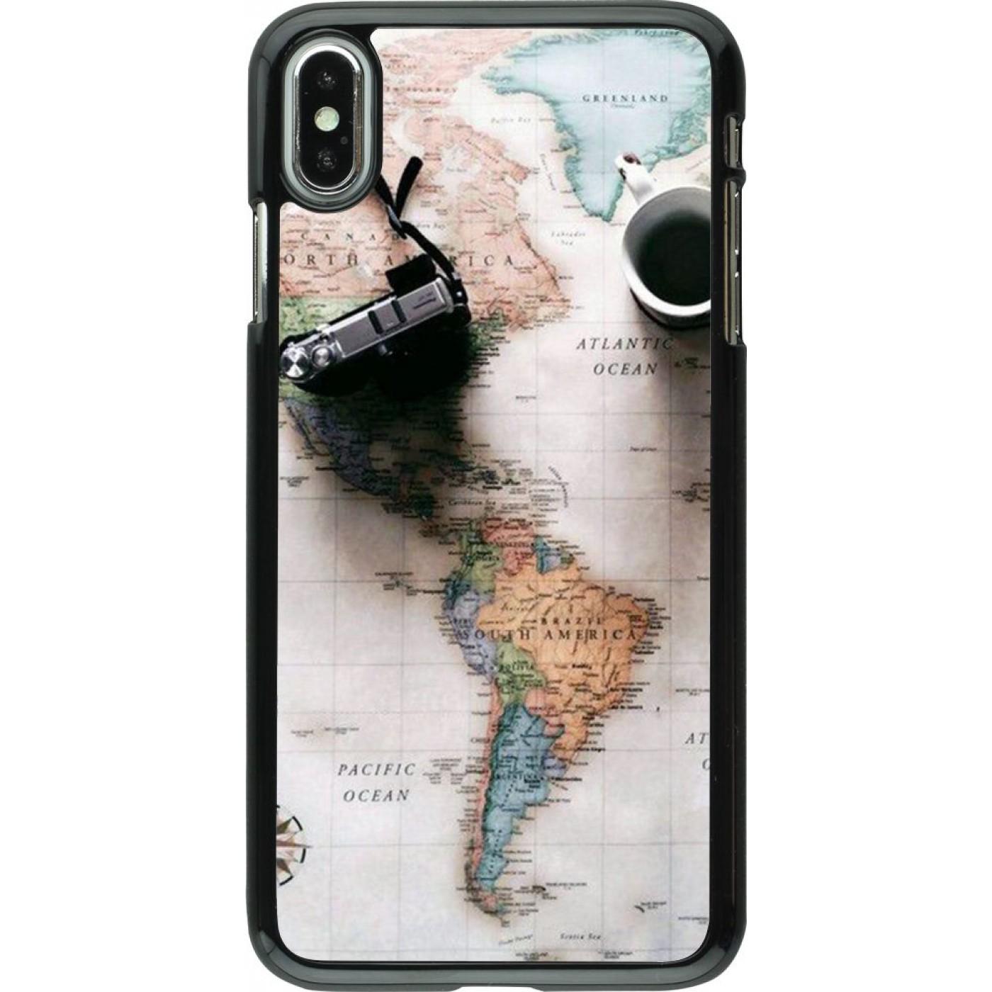 coque iphone xs travel