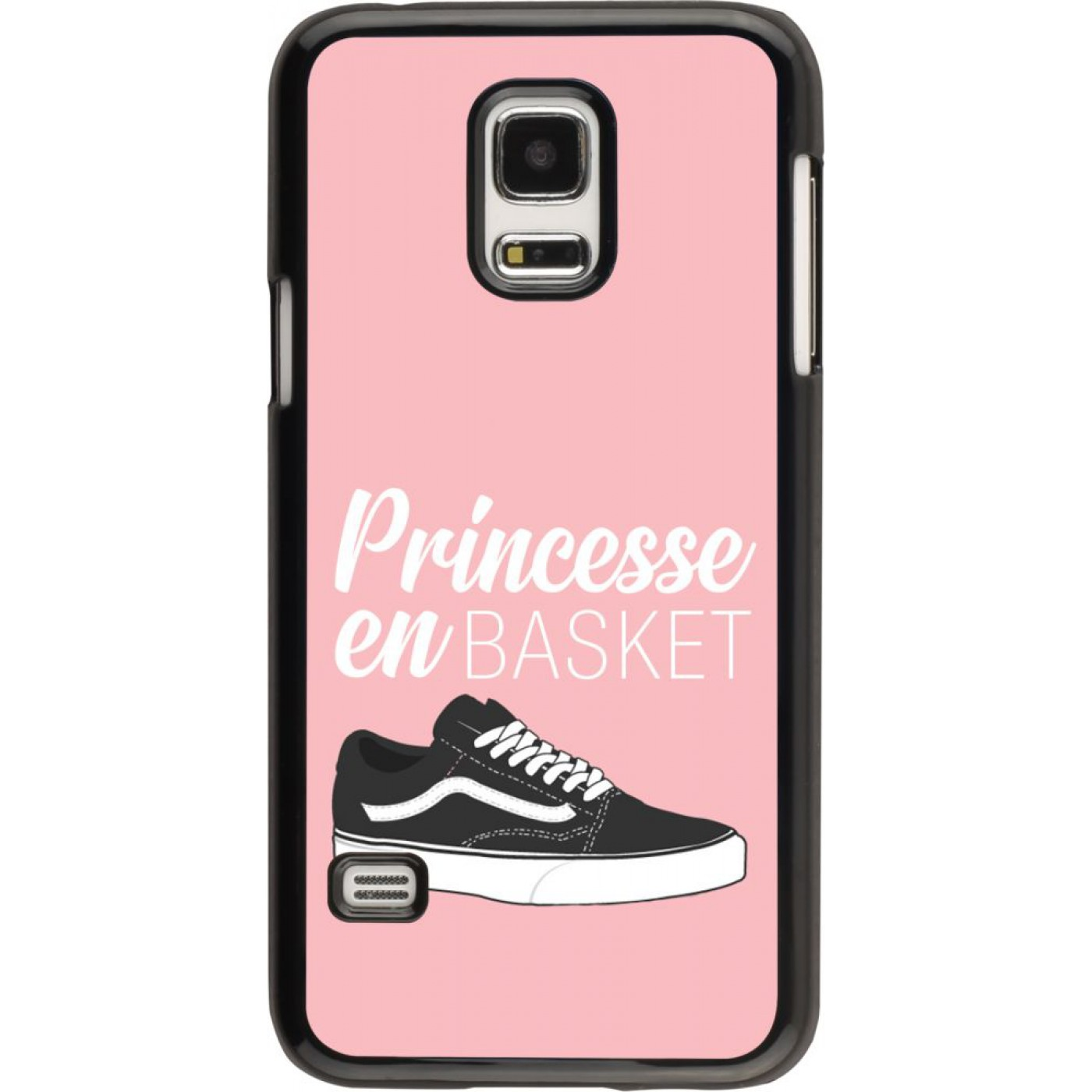 coque samsung galaxy s5 mini princesse en basket. Black Bedroom Furniture Sets. Home Design Ideas