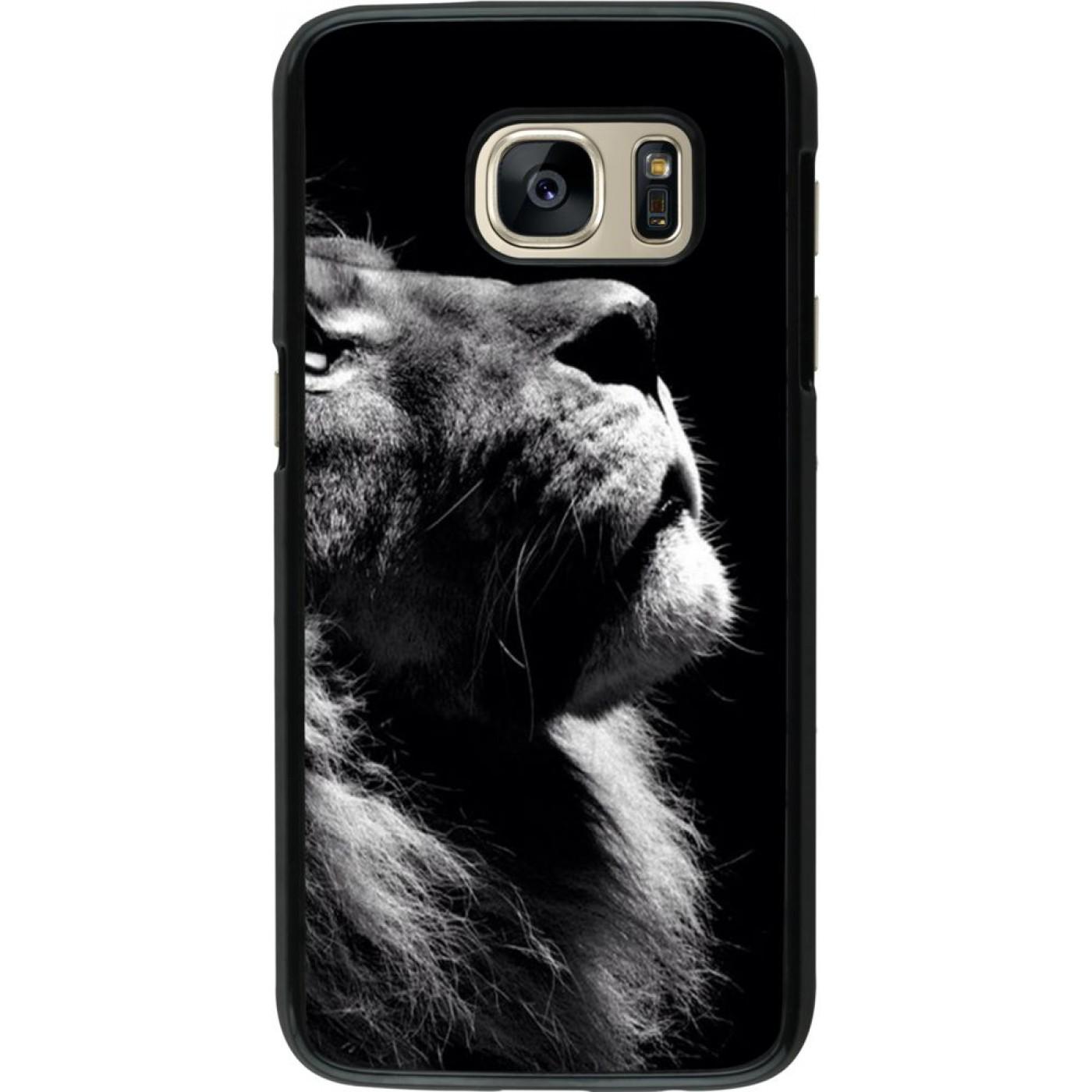 coque samsung s7 lion