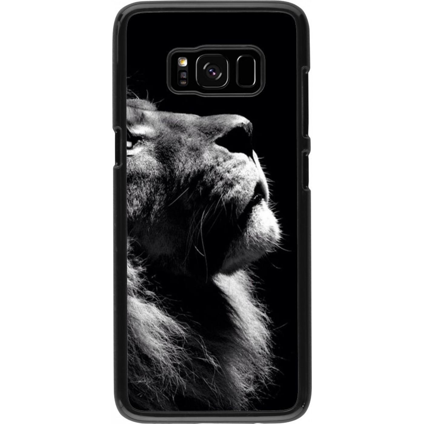 coque lion samsung s8