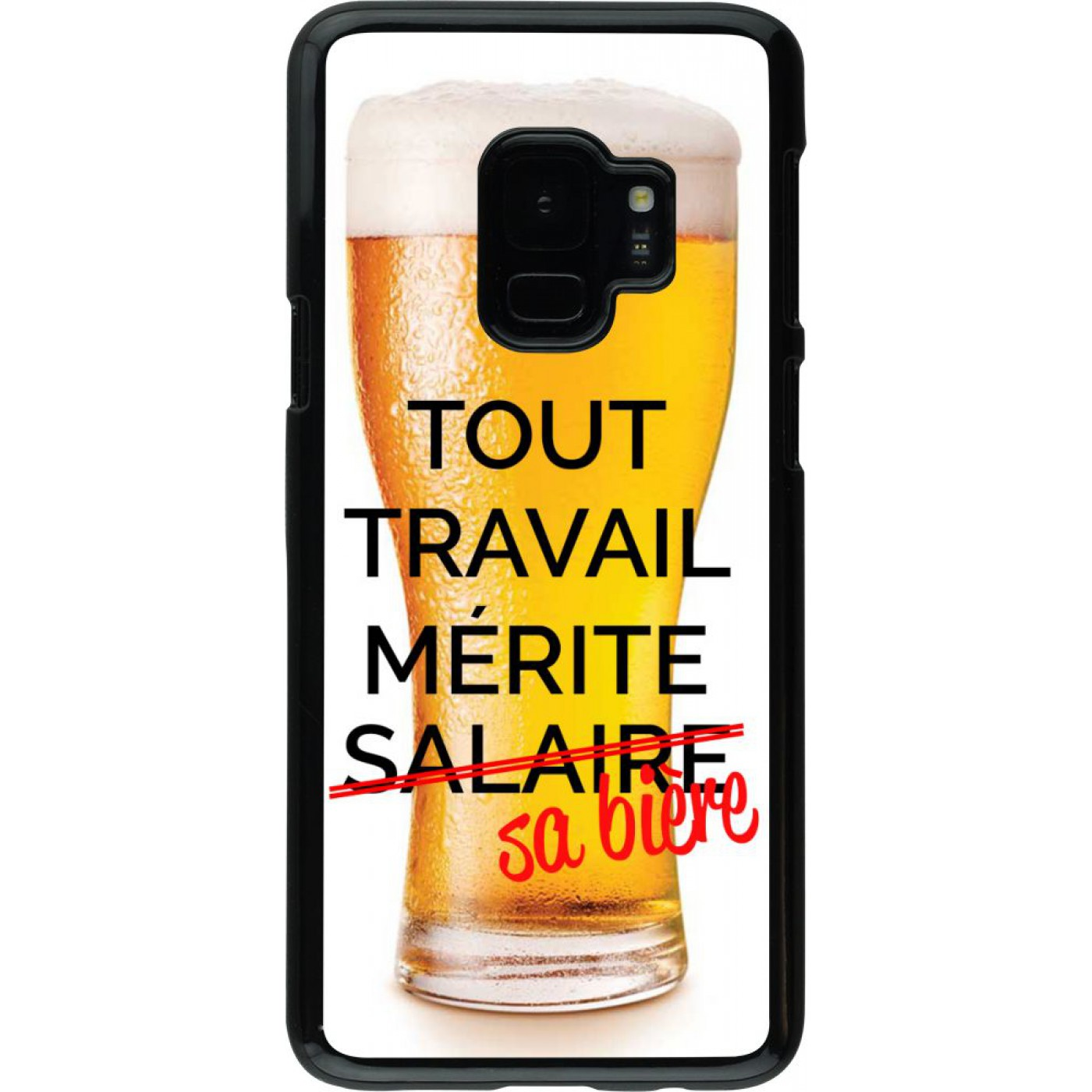 coque biere samsung s9