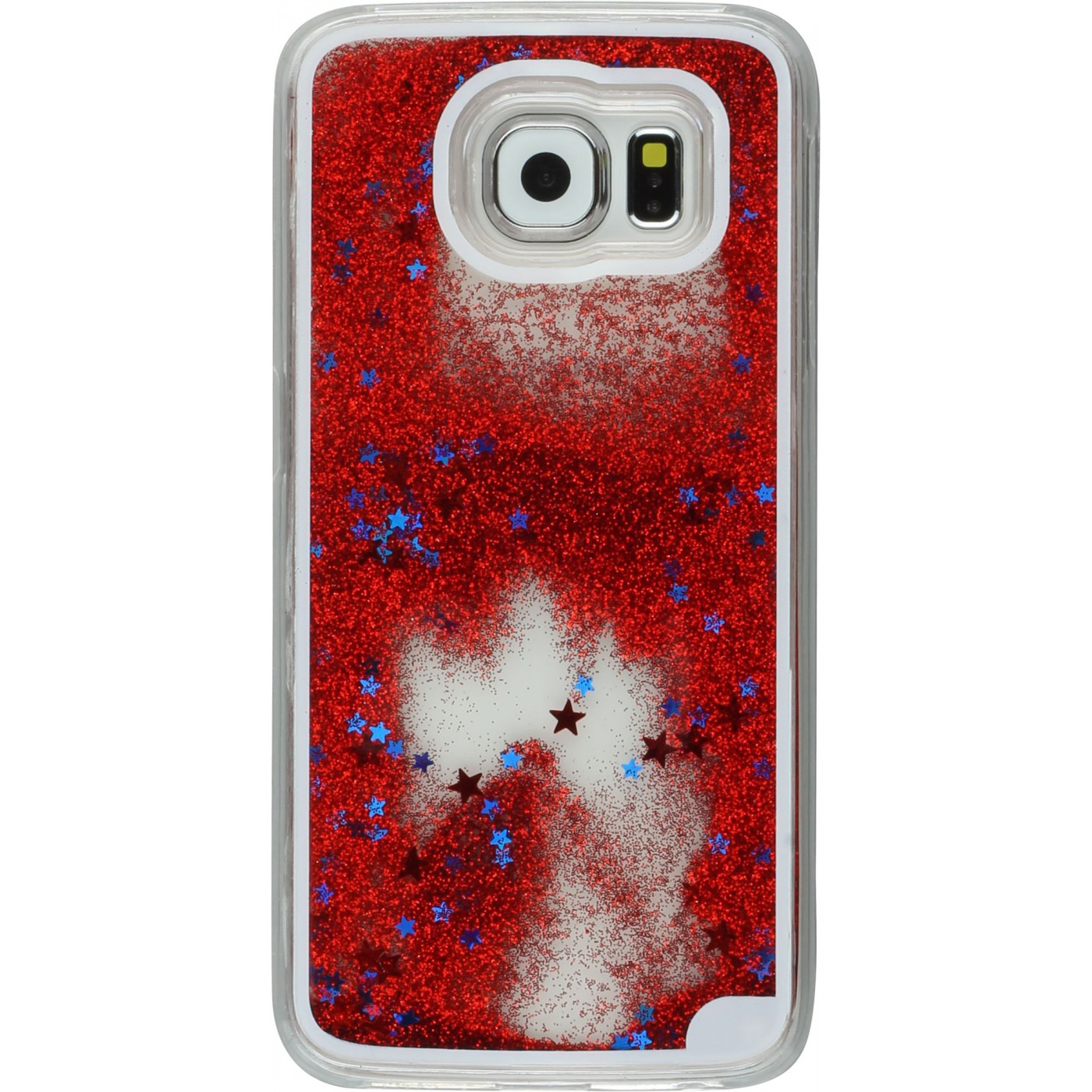 h lle samsung galaxy s7 water stars rot. Black Bedroom Furniture Sets. Home Design Ideas