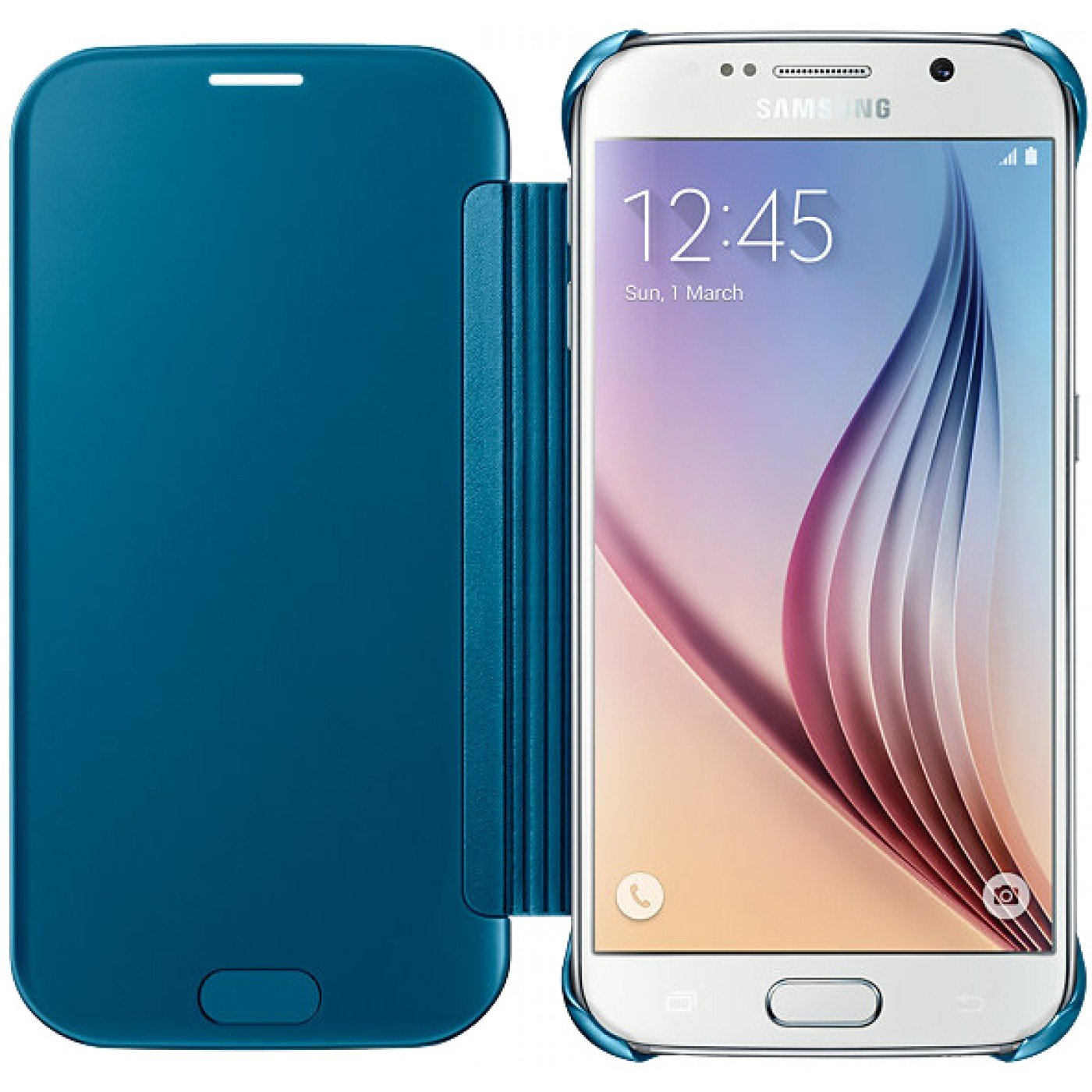 coque samsung galaxy s6 clear view