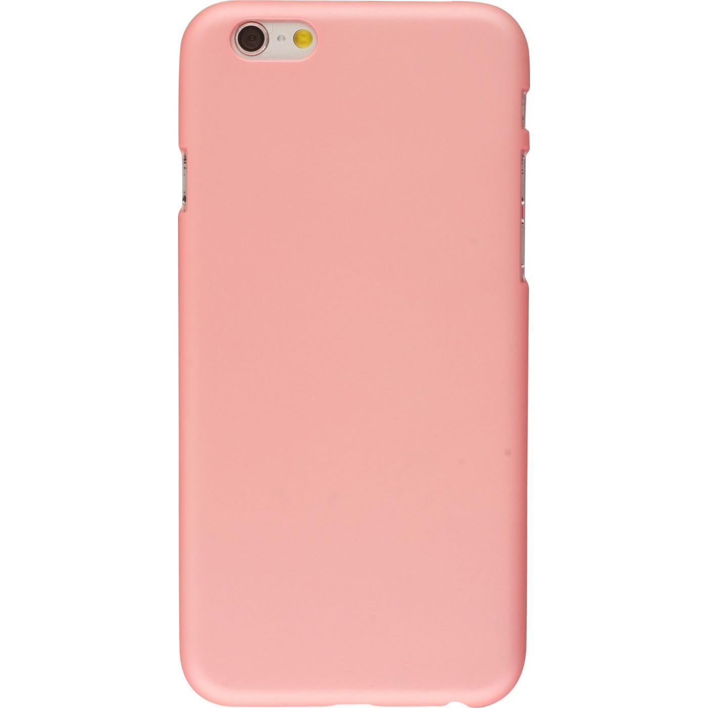 coque iphone 8 plus rose mate