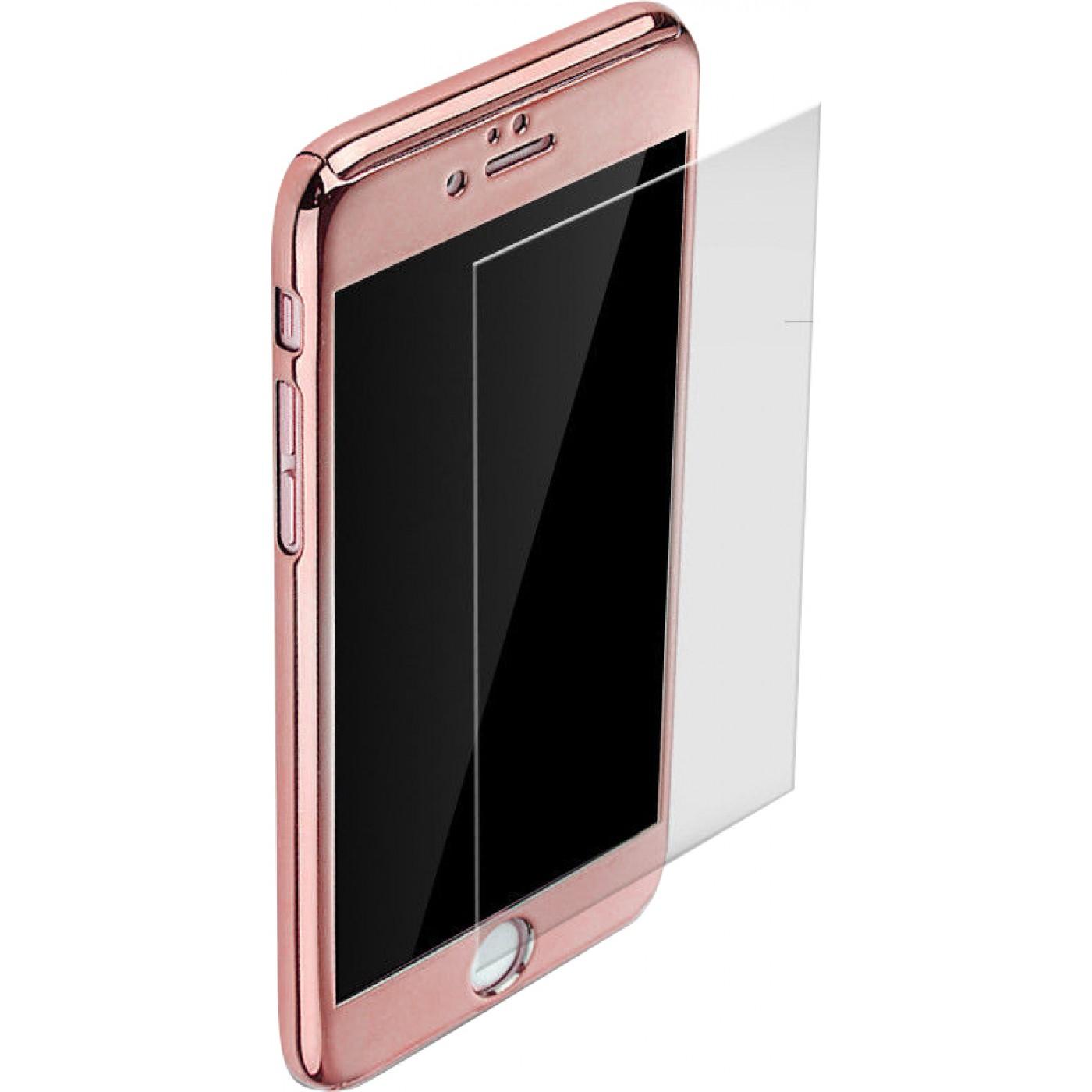 coque iphone 7 360 rose