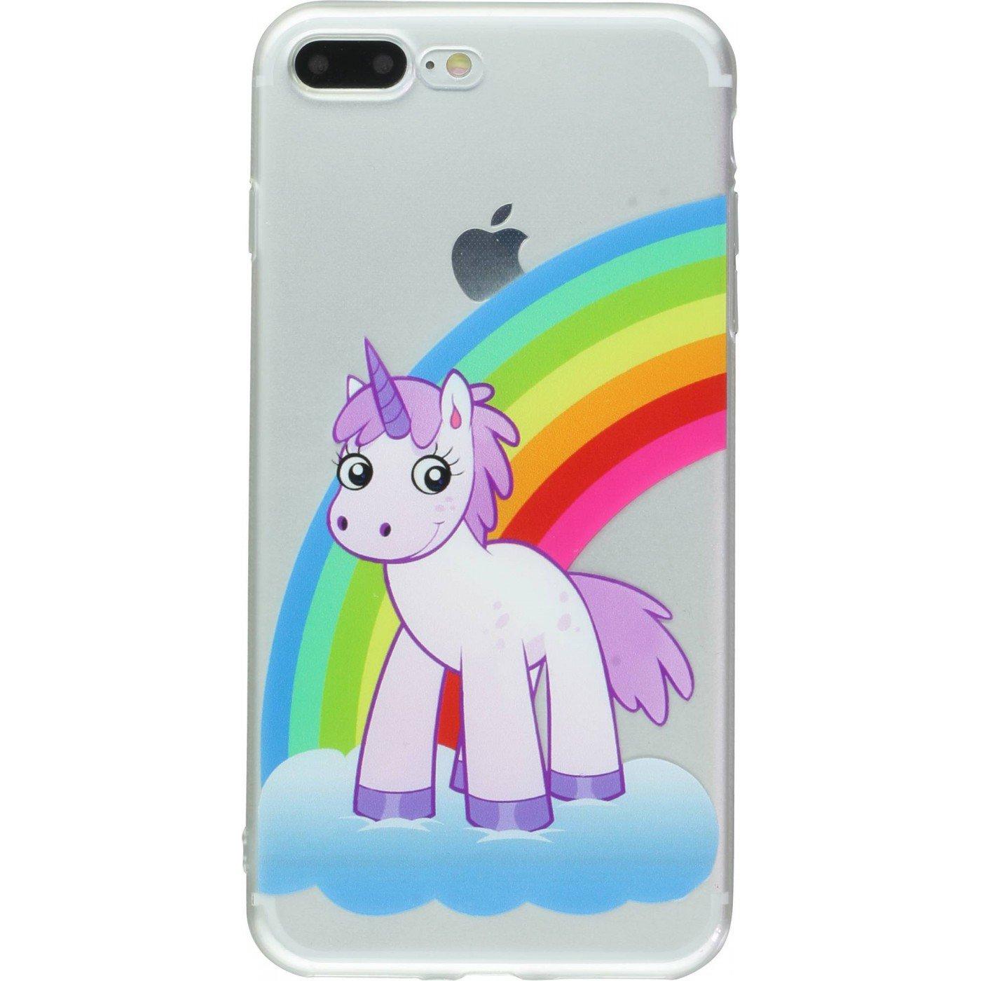 coque iphone 7 squishy licorne