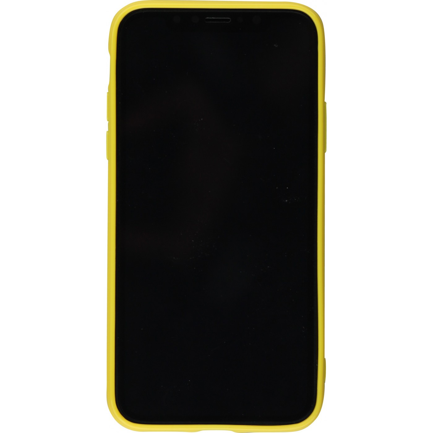 coque iphone x jaune
