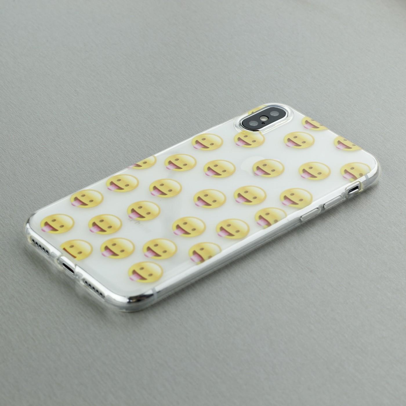 coque iphone xs emoji
