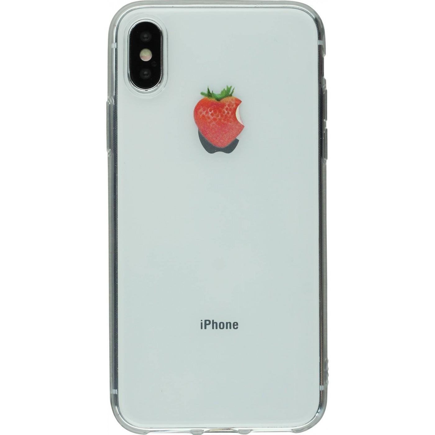 coque iphone x logo