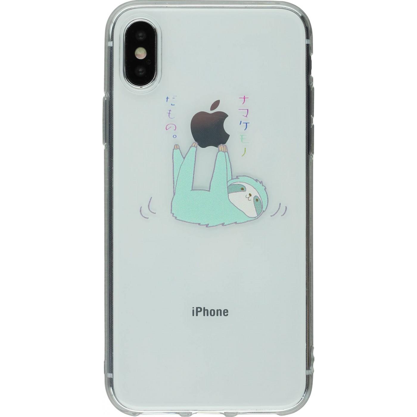 coque iphone 5 paresseux