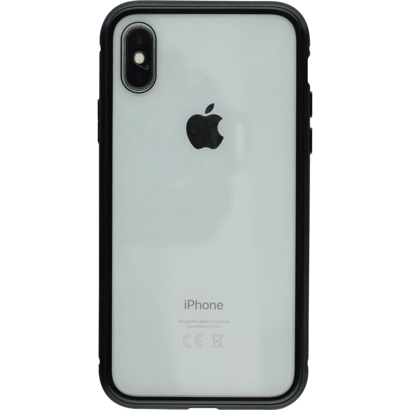 coque iphone xs magnetique anti espion