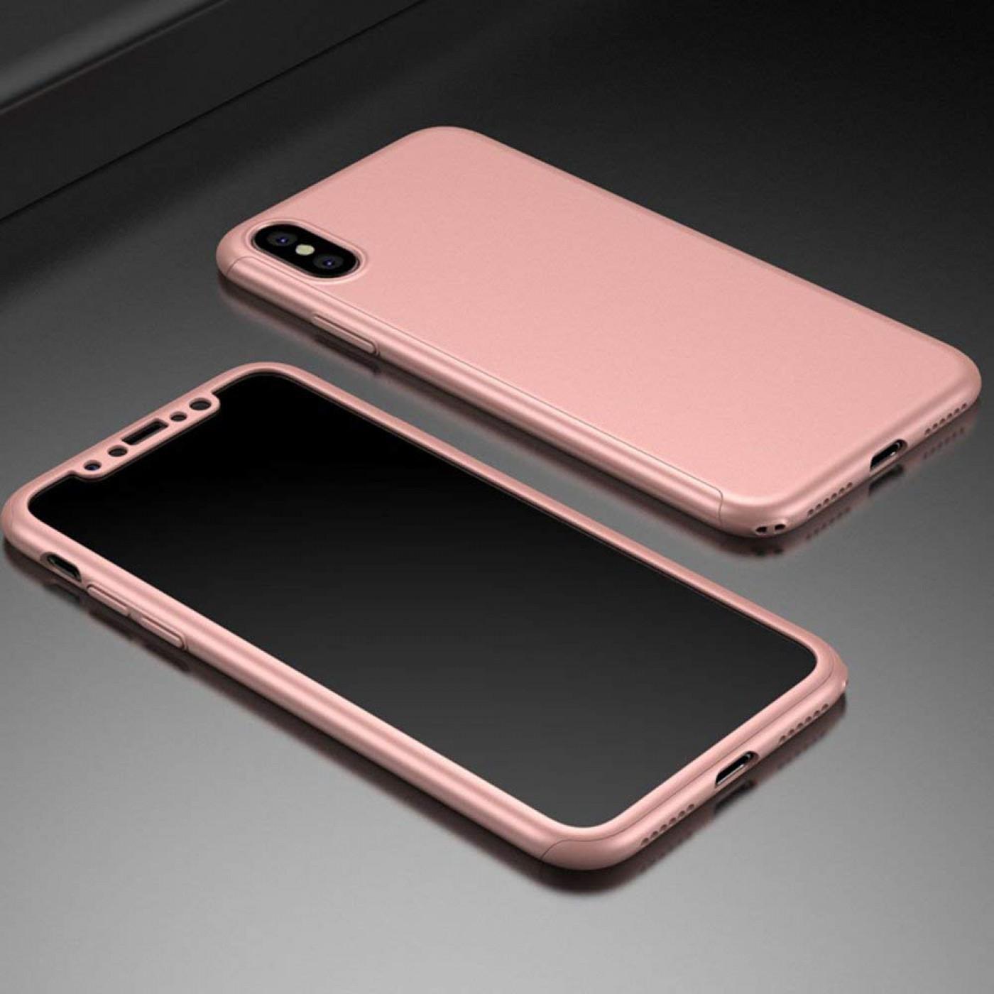 coque 360 iphone xr rose