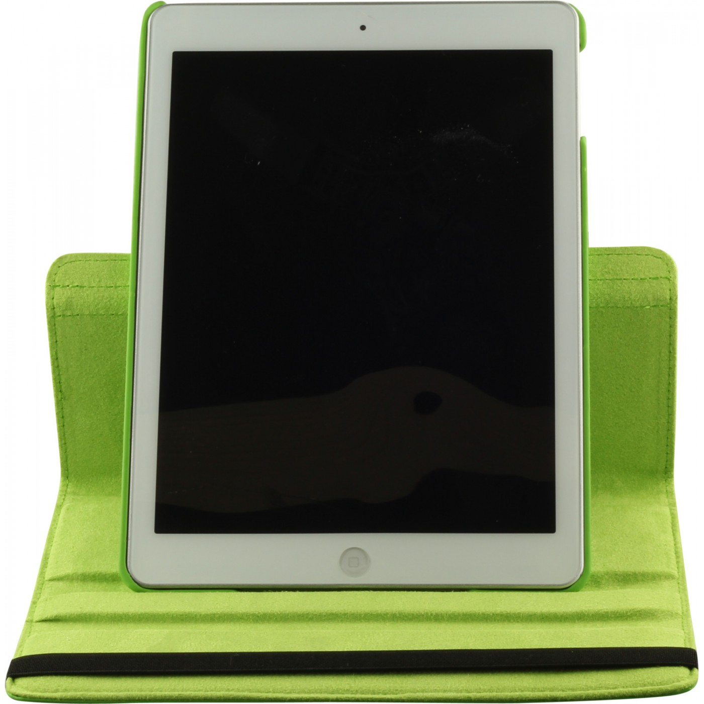 etui cuir ipad air 2 premium flip 360 vert. Black Bedroom Furniture Sets. Home Design Ideas
