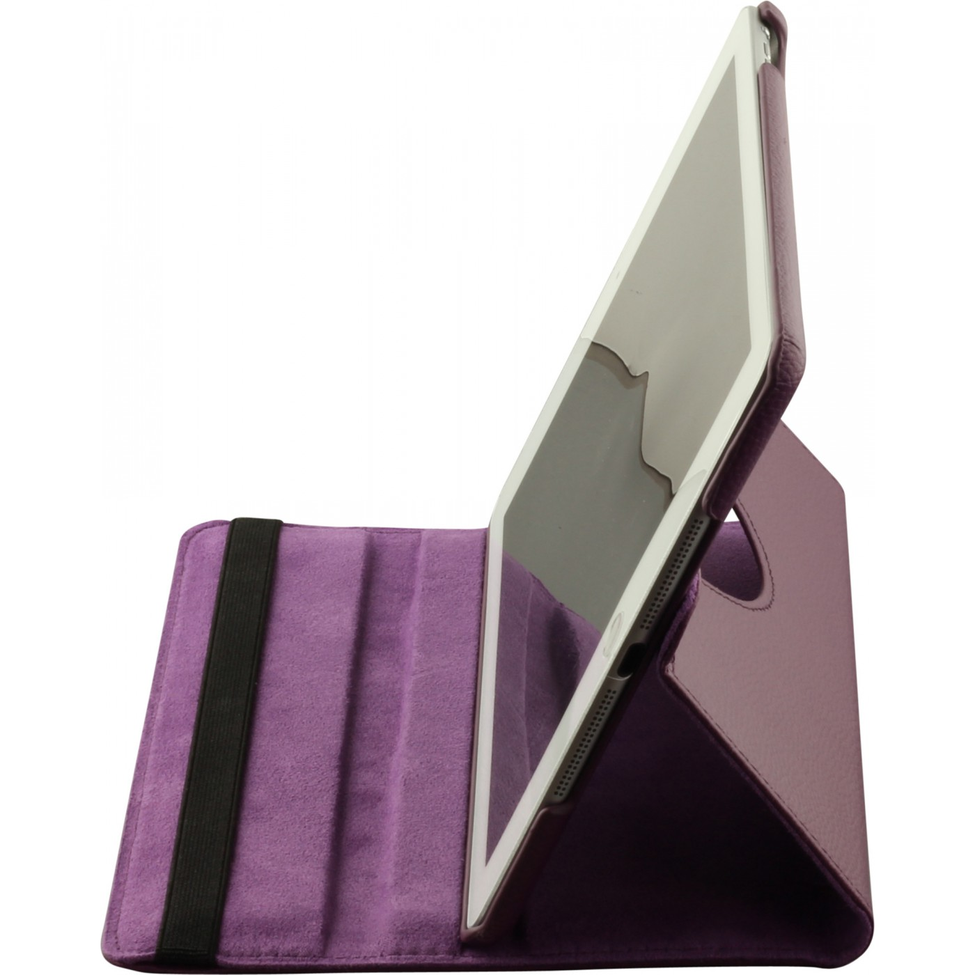 etui cuir ipad air 2 premium flip 360 violet. Black Bedroom Furniture Sets. Home Design Ideas