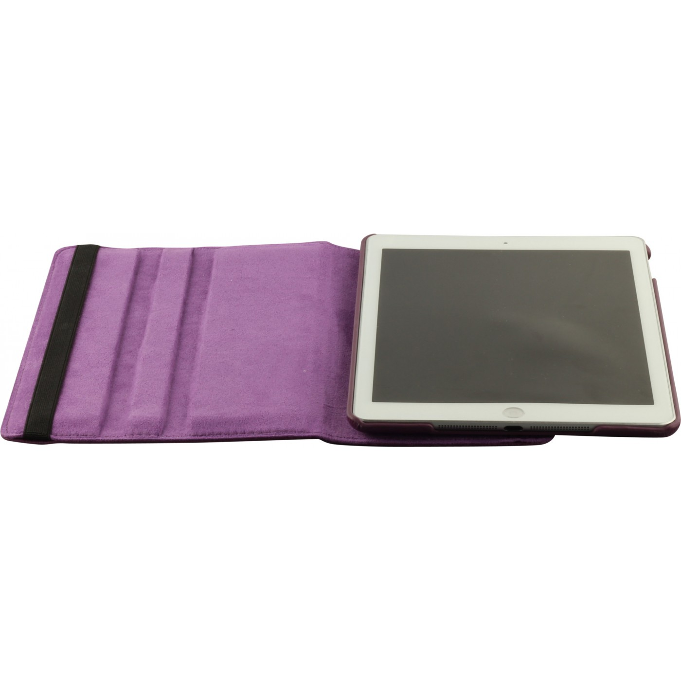 etui cuir ipad mini 4 premium flip 360 violet. Black Bedroom Furniture Sets. Home Design Ideas
