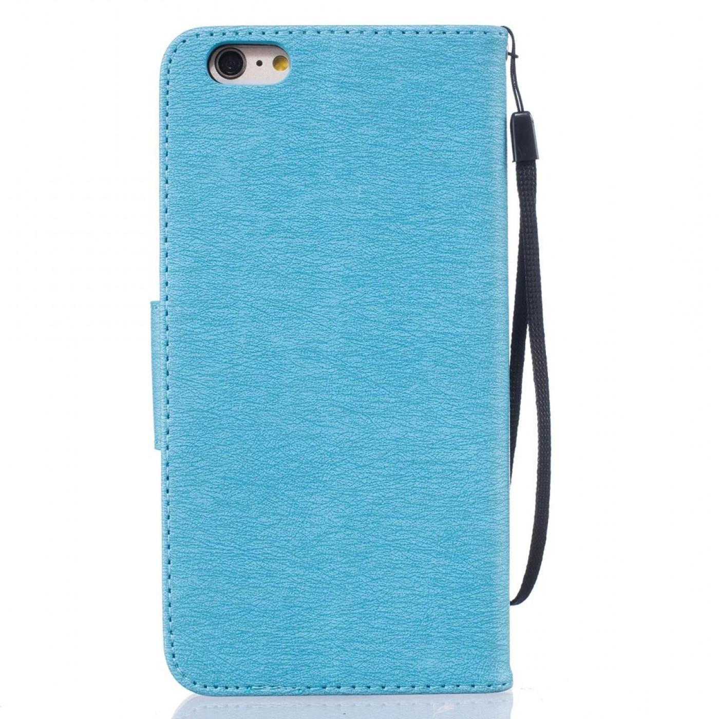 fourre iphone 7 8 flip plume freedom bleu clair. Black Bedroom Furniture Sets. Home Design Ideas