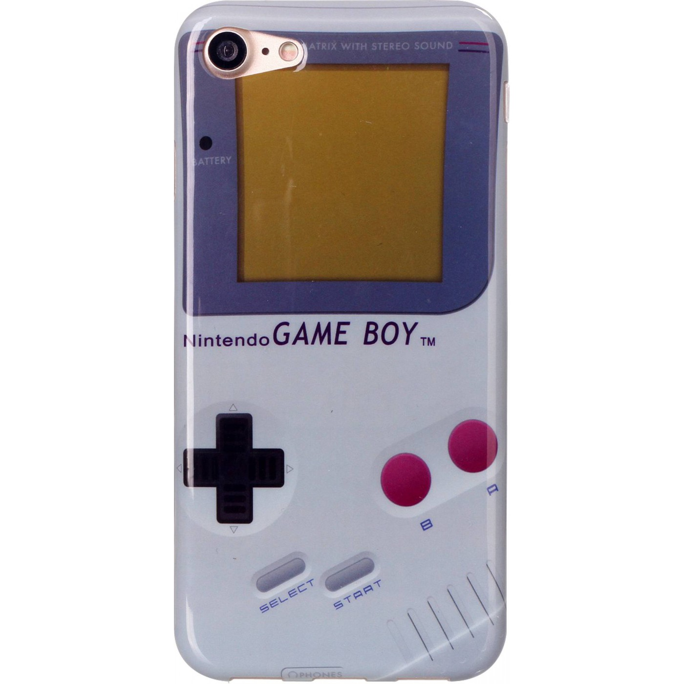 Housse iphone 7 8 game boy for Housse iphone 8
