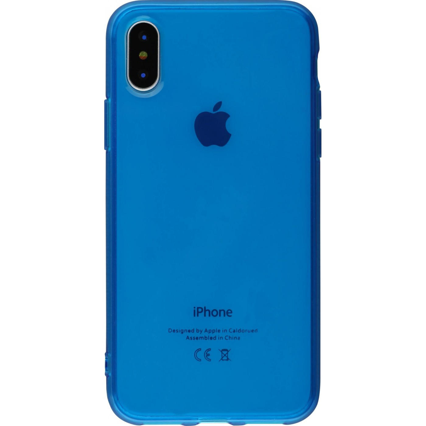 iphone xr coque bleu pastel