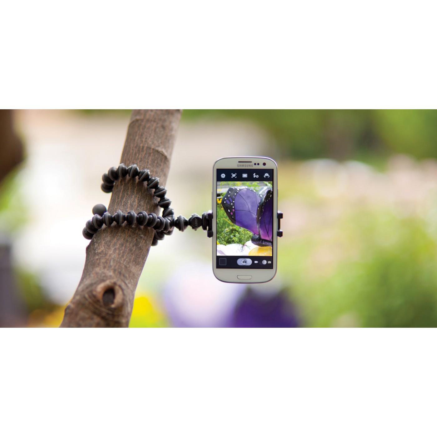 mini gorillapod klemmstativ f r smartphone. Black Bedroom Furniture Sets. Home Design Ideas