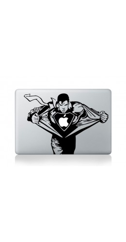 "Autocollant MacBook 13"" -  Superman"