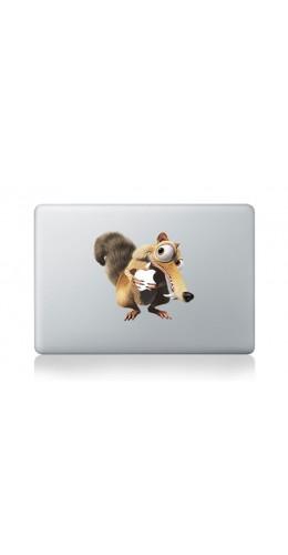 "Autocollant MacBook 13"" -  Scrat"