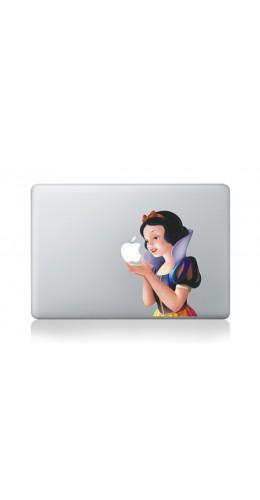 "Autocollant MacBook 13"" -  Blanche Neige"