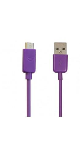 Câble de recharge Micro USB violet