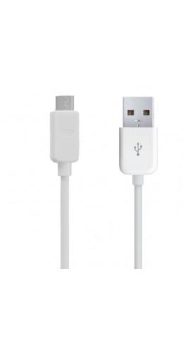 Câble de recharge Micro USB blanc