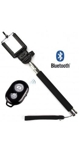 Selfie-stick extensible + télécommande sans-fil Bluetooth