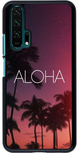 Coque Honor 20 Pro - Aloha Sunset Palms