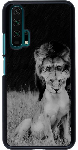 Coque Honor 20 Pro - Angry lions