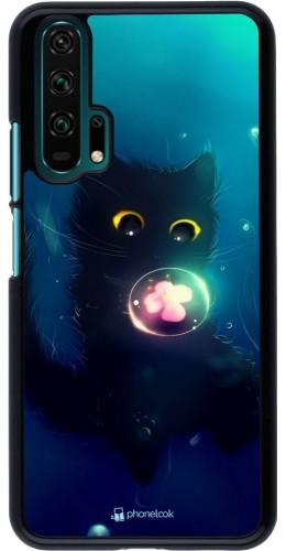 Coque Honor 20 Pro - Cute Cat Bubble