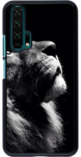 Coque Honor 20 Pro - Lion looking up
