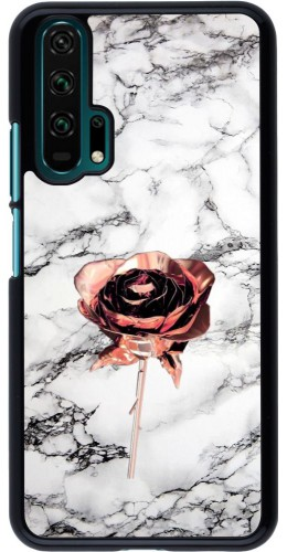 Coque Honor 20 Pro - Marble Rose Gold