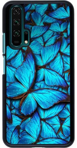 Coque Honor 20 Pro - Papillon bleu