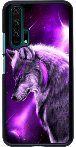 Coque Honor 20 Pro - Purple Sky Wolf