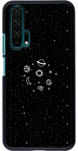 Coque Honor 20 Pro - Space Doodle