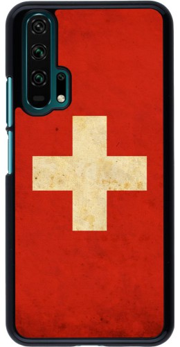 Coque Honor 20 Pro - Vintage Flag SWISS