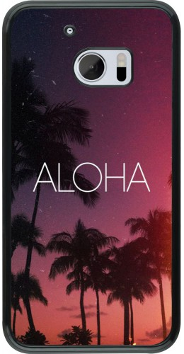 Coque HTC 10 - Aloha Sunset Palms