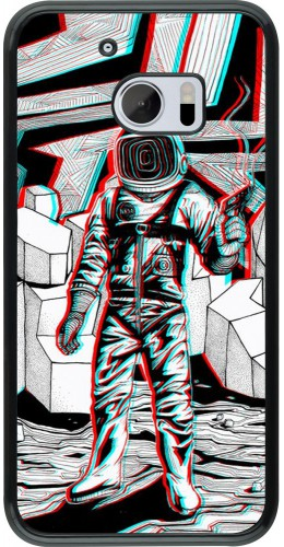Coque HTC 10 - Anaglyph Astronaut