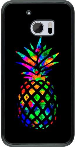 Coque HTC 10 - Ananas Multi-colors