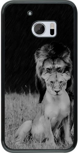 Coque HTC 10 - Angry lions