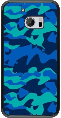 Coque HTC 10 - Camo Blue