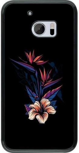 Coque HTC 10 - Dark Flowers