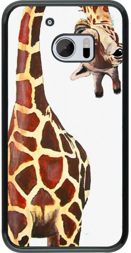 Coque HTC 10 - Giraffe Fit
