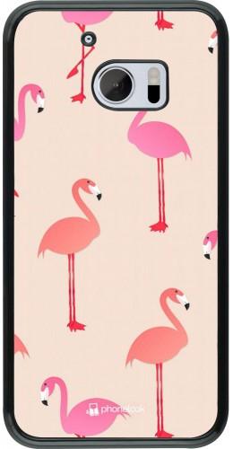 Coque HTC 10 - Pink Flamingos Pattern