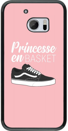 Coque HTC 10 - princesse en basket