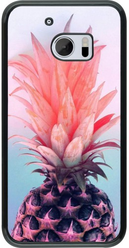 Coque HTC 10 - Purple Pink Pineapple