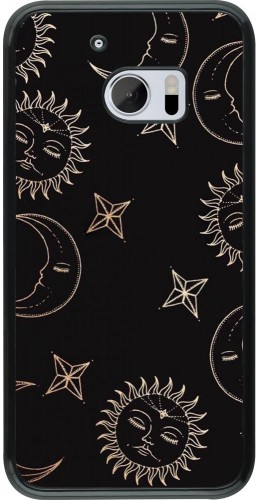 Coque HTC 10 - Suns and Moons